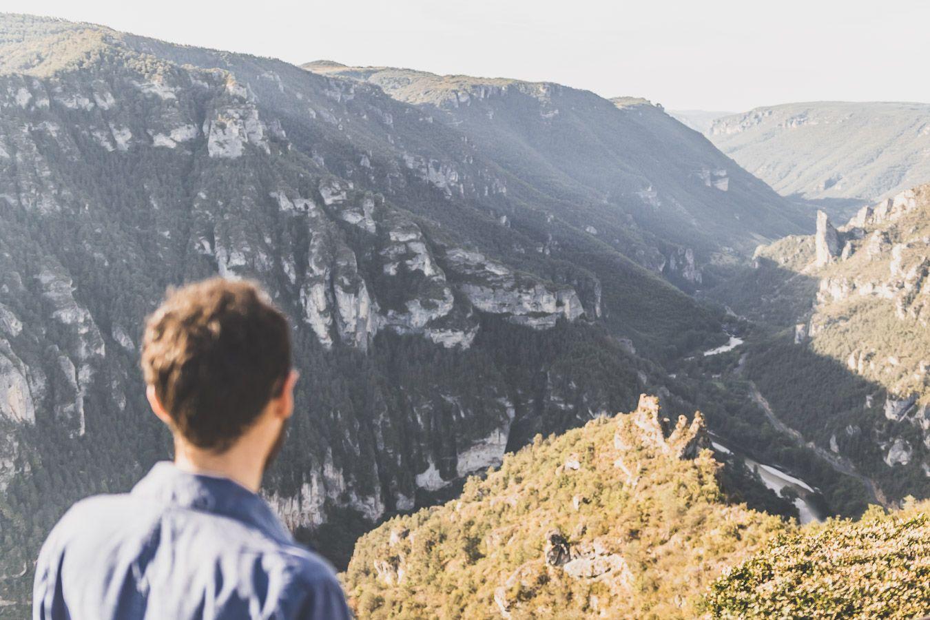 Le Point sublime, dans les Gorges du Tarn en Lozère