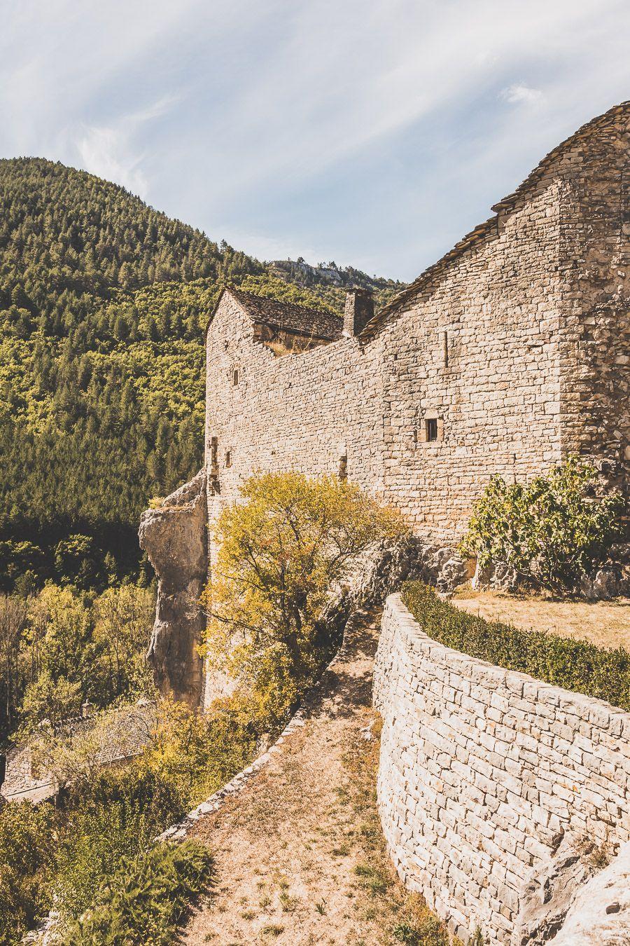 château de Prades en Lozère