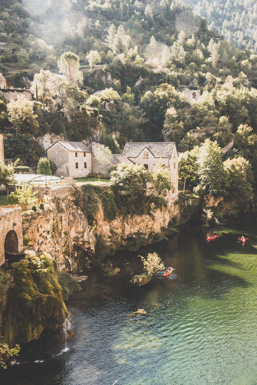 Saint-Chély-du Tarn, canoë