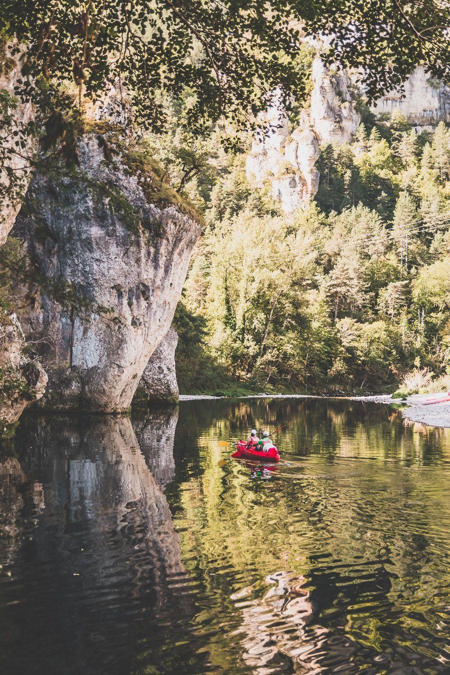 Canoë sur les Gorges du Tarn