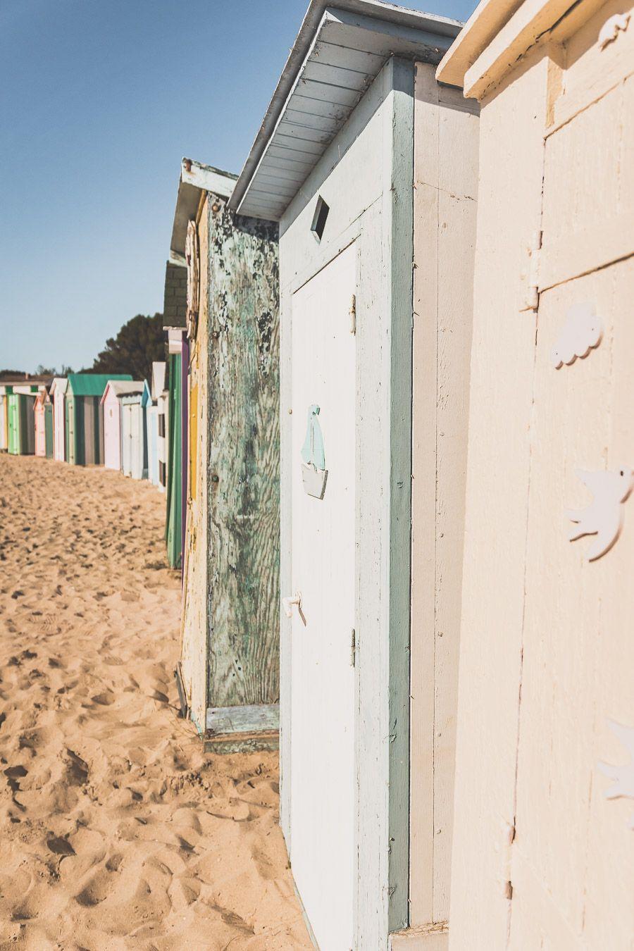 Cabanes de plage Saint-Denis-d'Oléron