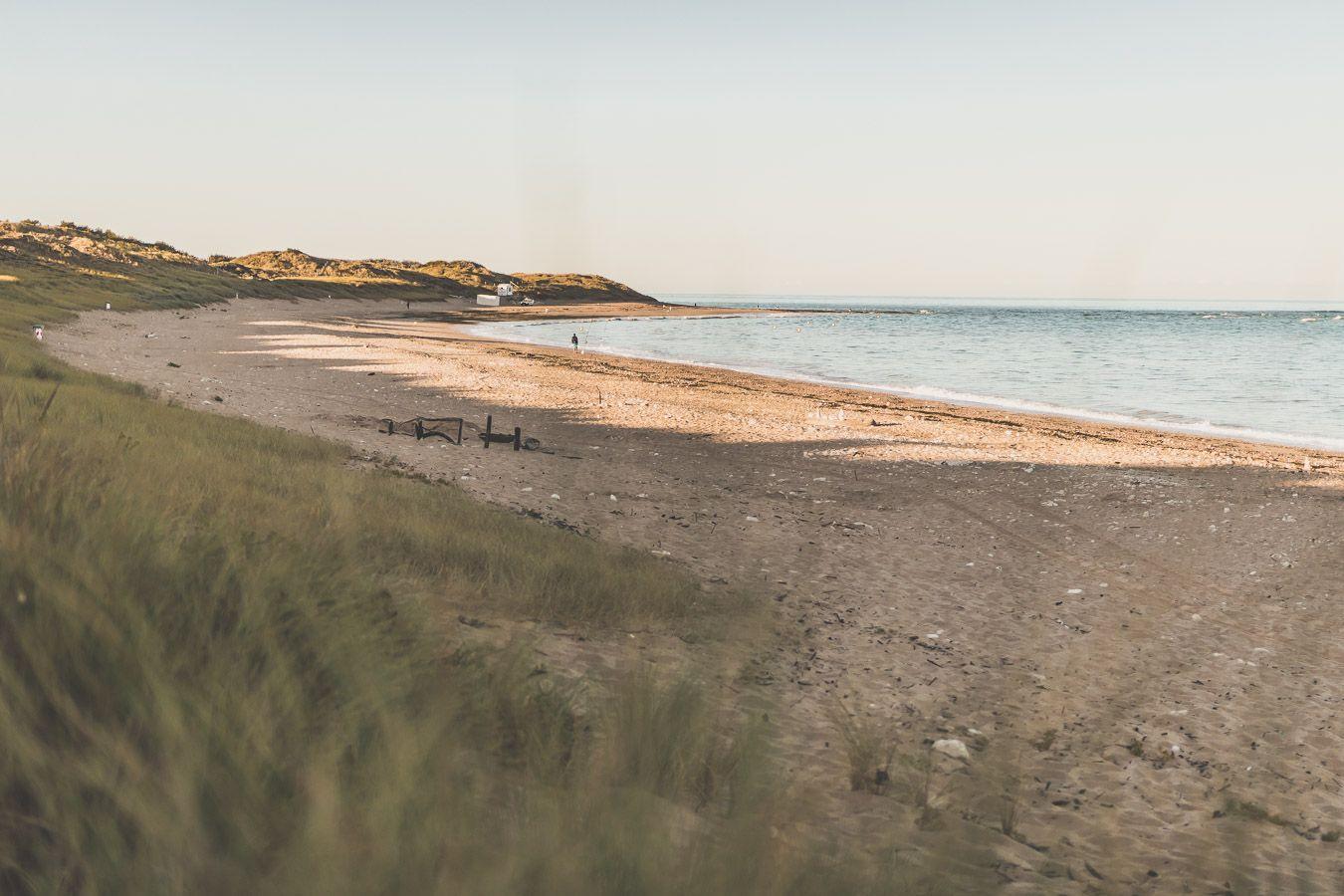 Plage des Bonnes sur l'île d'Oléron