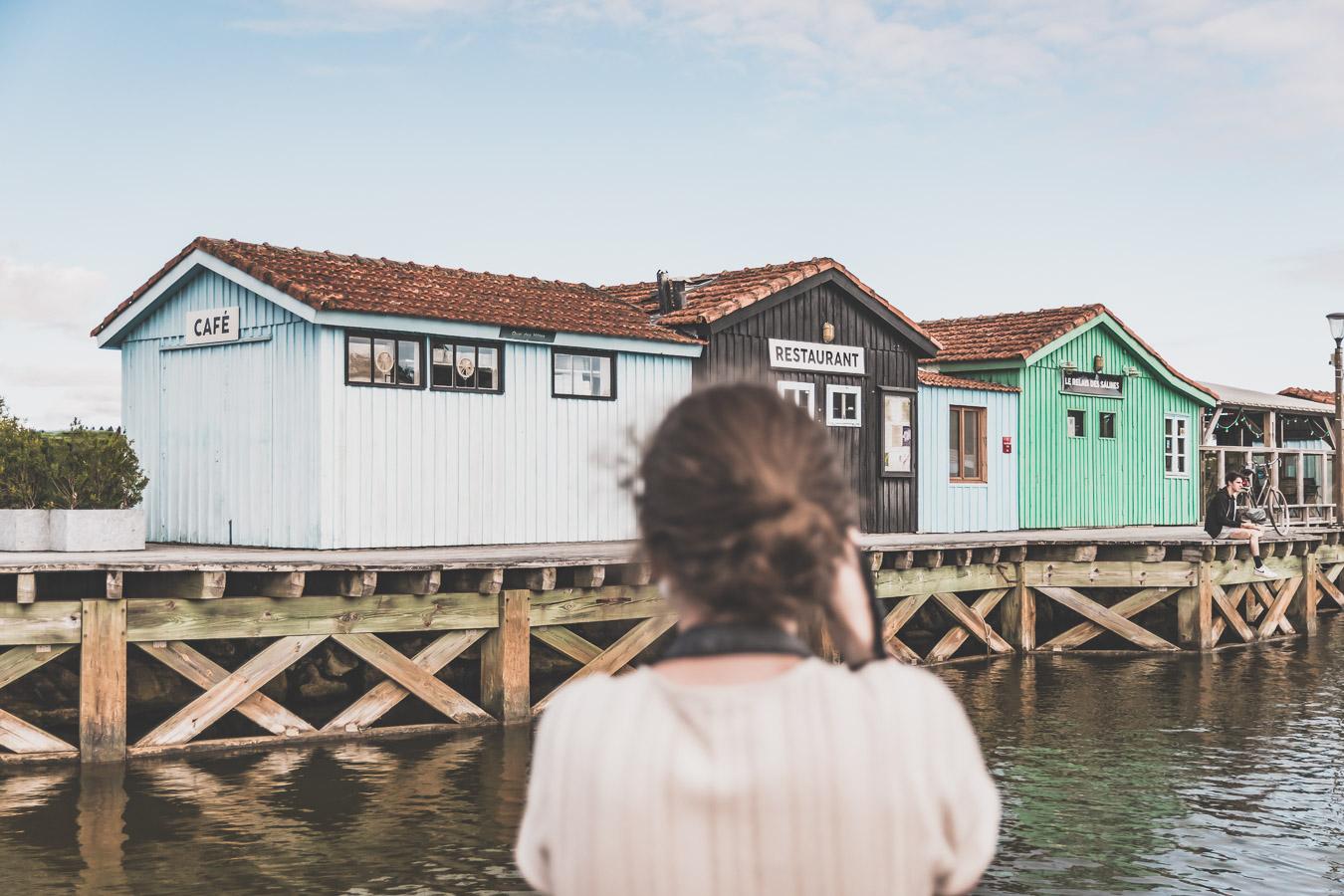 Port des Salines sur l'île d'Oléron