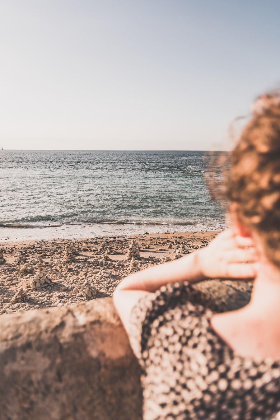 Coucher de soleil phare des Baleines