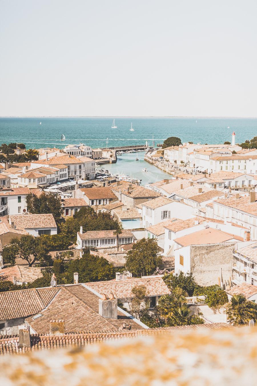vue sur Saint-Martin-de-Ré