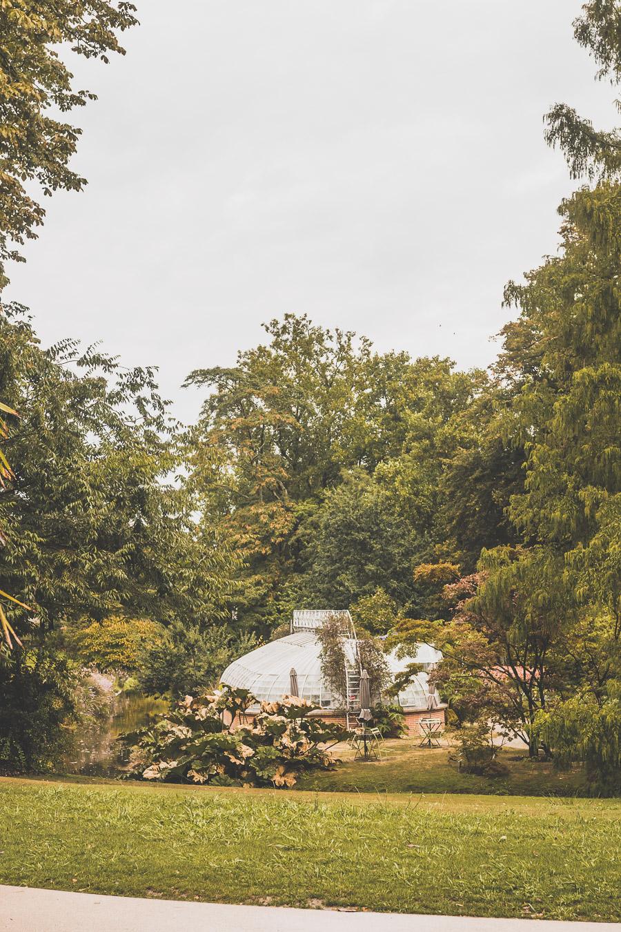 Nantes, jardin des plantes