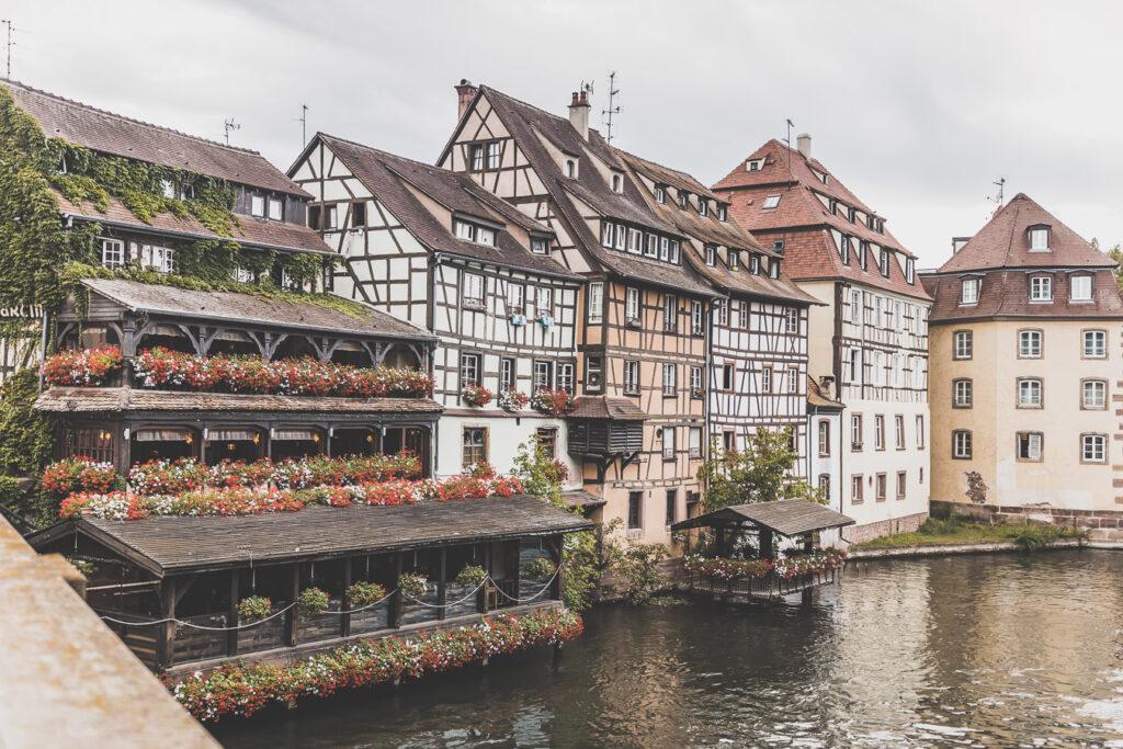 Quartier de la Petite France à Strasbourg