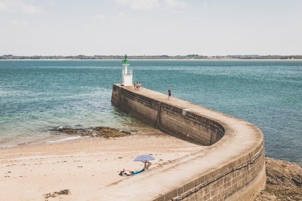 Pointe de Merquel en Loire-Atlantique