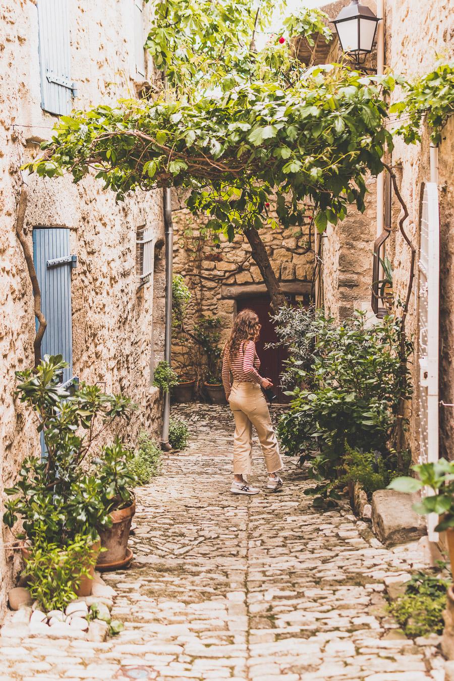 Ansouis, Plus beau village de France du Lubéron