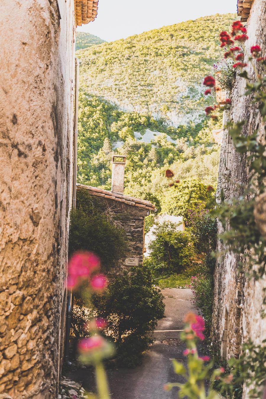 Castellet dans le Vaucluse