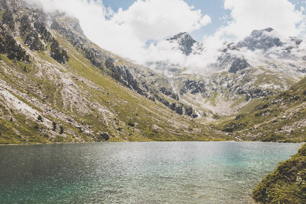 Randonnée vers le Lac d'Estom - départ la Fruitière