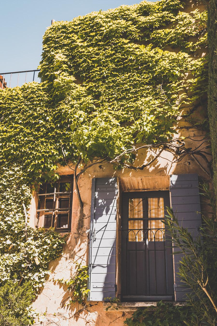Roussillon, Plus Beau village de France du Lubéron